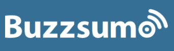 Buzzsumo to find company blog topics