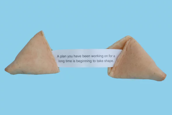 your success in how to get seed funding with a fortune cookie